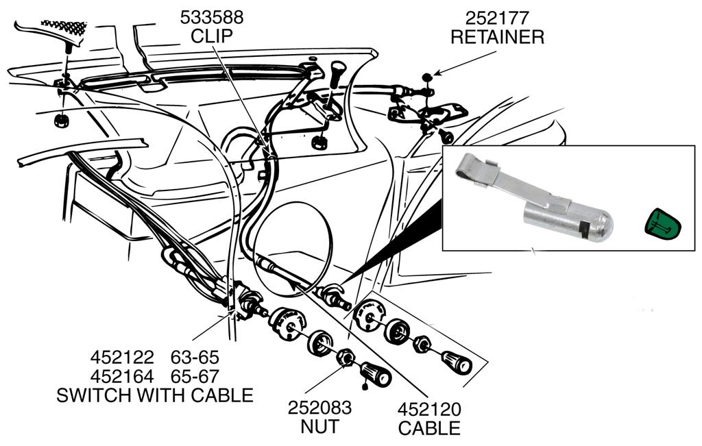 6367 Defrost Defroster Cable No Air Corvette Central. Corvette. 67 Corvette Air Conditioning Diagram At Scoala.co